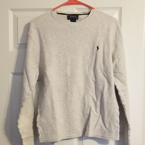 Polo long sleeved shirt